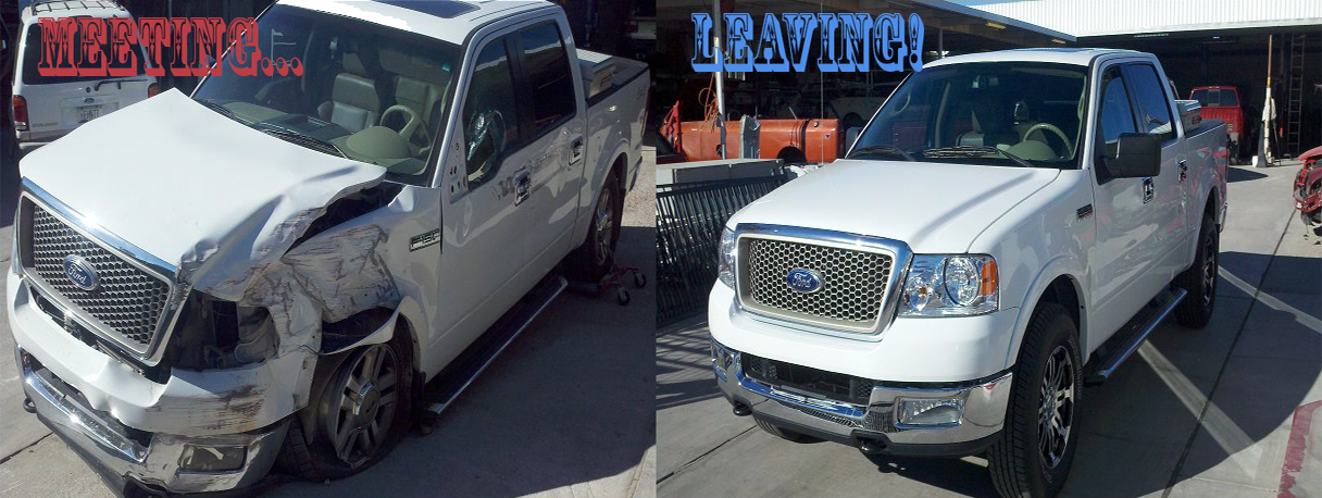 Ford 150 Collision Repair